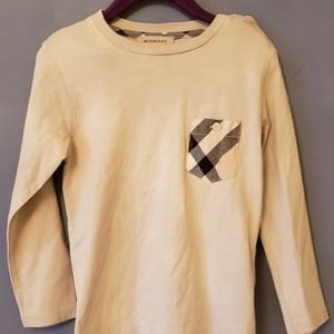 Authentic Burberry long sleeve shirt size 4
